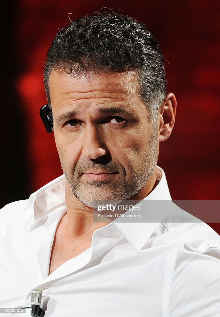 Author <a gi-track='captionPersonalityLinkClicked' href=/galleries/search?phrase=Khaled+Hosseini&family=editorial&specificpeople=2096388 ng-click='$event.stopPropagation()'>Khaled Hosseini</a> attends 'Che Tempo Che Fa' TV Show on October 12, 2013 in Milan, Italy.