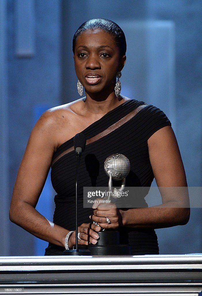 Author Kimberla Lawson Roby onstage during the 44th NAACP Image Awards at The Shrine Auditorium on February 1, 2013 in Los Angeles, California.