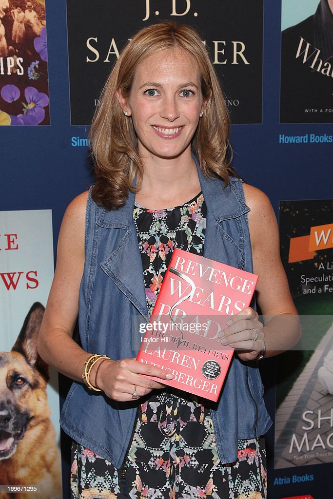 Author Lauren Weisberger attends the 2013 Book Expo America on day one at Jacob Javits Center on May 30, 2013 in New York City.