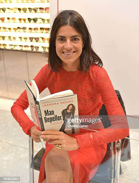 Author Leandra Medine attends Barneys New York Cocktail Event with Simon Doonan and 'Man Repeller' Leandra Medine celebrating their new books at...