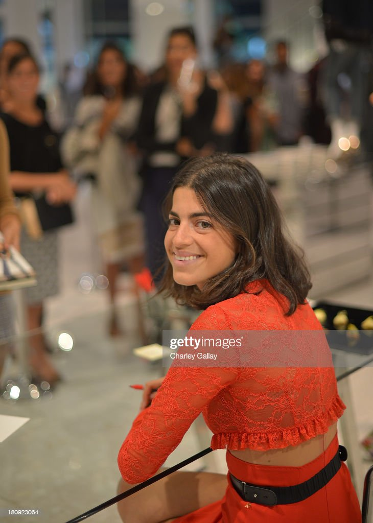 Author <a gi-track='captionPersonalityLinkClicked' href=/galleries/search?phrase=Leandra+Medine&family=editorial&specificpeople=7491795 ng-click='$event.stopPropagation()'>Leandra Medine</a> attends Barneys New York Cocktail Event with Simon Doonan and 'Man Repeller' <a gi-track='captionPersonalityLinkClicked' href=/galleries/search?phrase=Leandra+Medine&family=editorial&specificpeople=7491795 ng-click='$event.stopPropagation()'>Leandra Medine</a> celebrating their new books at Barneys New York At The Grove on September 17, 2013 in Los Angeles, California.