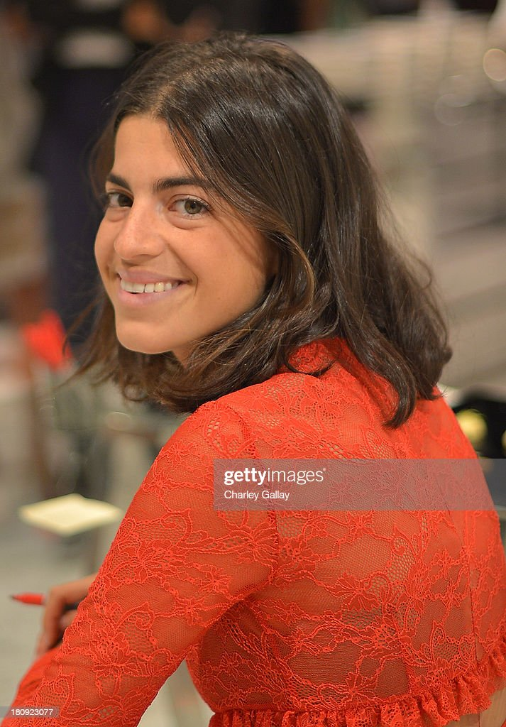 Author Leandra Medine attends Barneys New York Cocktail Event with Simon Doonan and 'Man Repeller' Leandra Medine celebrating their new books at Barneys New York At The Grove on September 17, 2013 in Los Angeles, California.