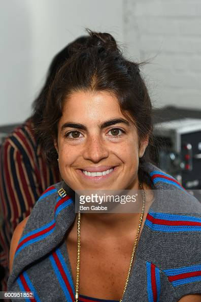 Author Leandra Medine attends the Creatures of Comfort fashion show at Industria Studios on September 8 2016 in New York City