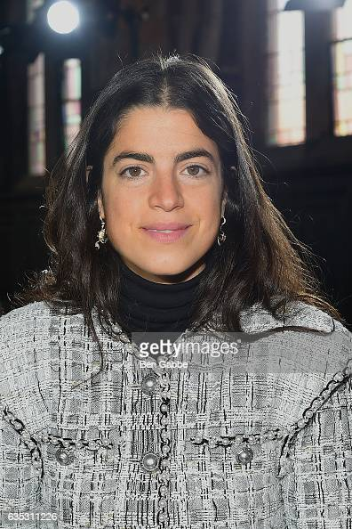 Author Leandra Medine attends the Gabriela Hearst fashion show during New York Fashion Week at High Line Hotel The Refectory on February 14 2017 in...
