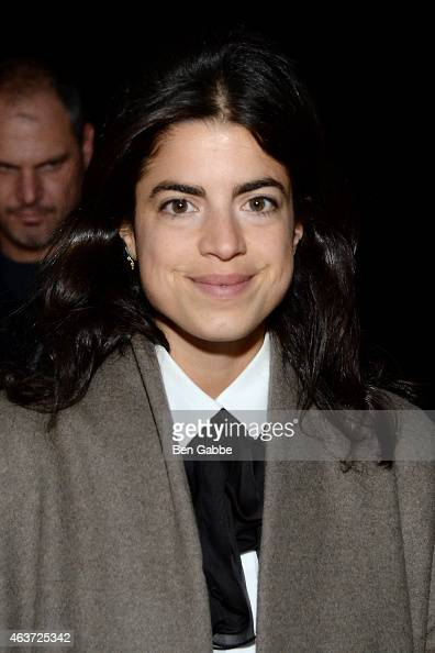 Author Leandra Medine attends the Narciso Rodriguez fashion show during MercedesBenz Fashion Week Fall 2015 at SIR Stage37 on February 17 2015 in New...