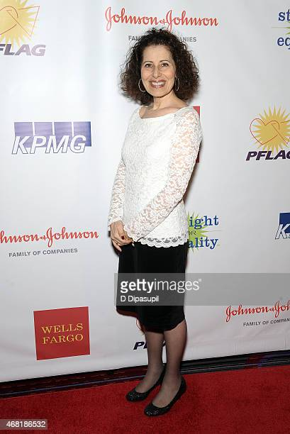Author Leslea Newman attends the 7th Annual PFLAG National Straight For Equality Awards Gala at The New York Marriott Marquis on March 30 2015 in New...