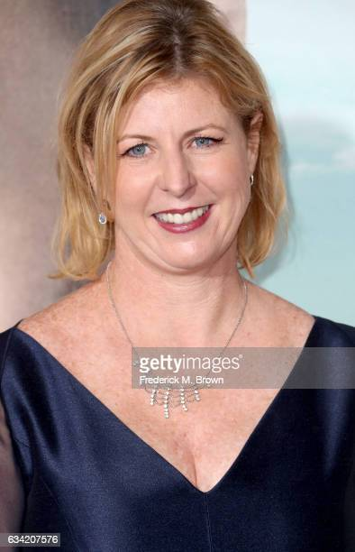 Author Liane Moriarty attends the premiere of HBO's 'Big Little Lies' at TCL Chinese Theatre on February 7 2017 in Hollywood California