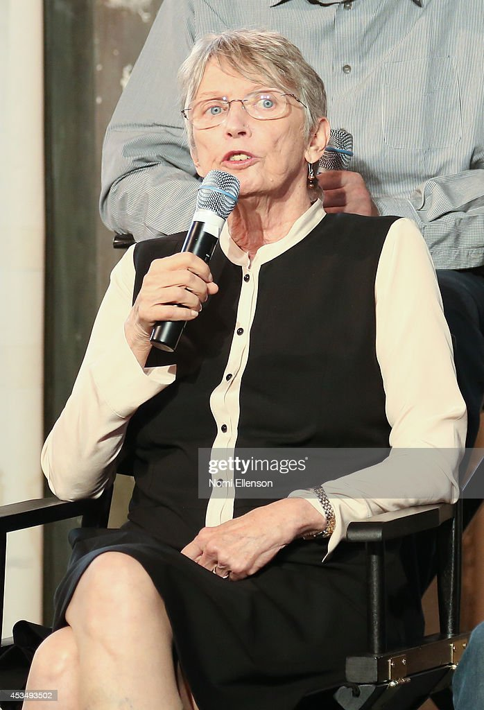 Author Louis Lowry attends AOL's Build Speaker Series Presents: 'The Giver' Author, Director & Cast at AOL Studios In New York on August 11, 2014 in New York City.