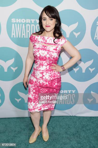 Author Mara Wilson attends the 9th Annual Shorty Awards at PlayStation Theater on April 23 2017 in New York City