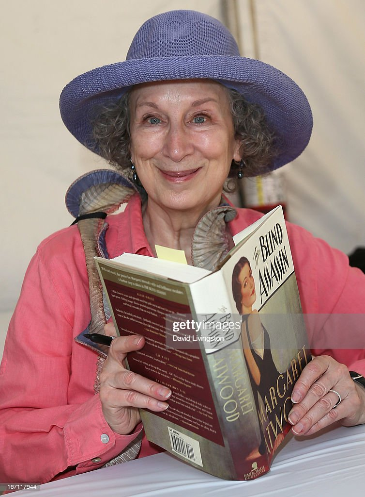 Author <a gi-track='captionPersonalityLinkClicked' href=/galleries/search?phrase=Margaret+Atwood&family=editorial&specificpeople=570179 ng-click='$event.stopPropagation()'>Margaret Atwood</a> attends the 18th Annual Los Angeles Times Festival of Books - Day 1 at the University of Southern California on April 20, 2013 in Los Angeles, California.