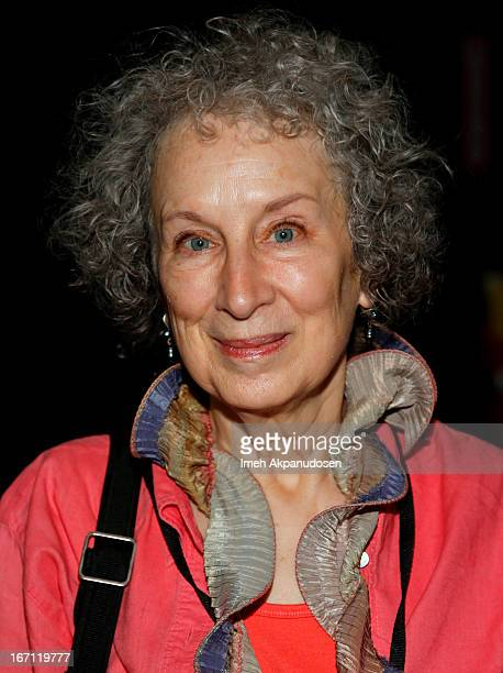 Author Margaret Atwood attends the 18th Annual LA Times Festival Of Books at USC on April 20 2013 in Los Angeles California