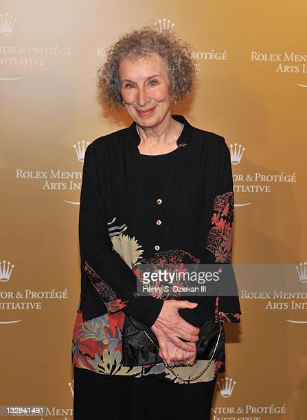 Author Margaret Atwood attends the 2011 Rolex Mentor Protege Arts Initiative at the David H Koch Theater Lincoln Center on November 14 2011 in New...