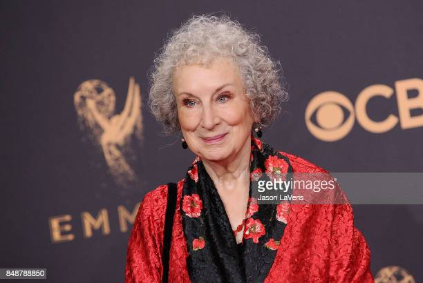 Author Margaret Atwood attends the 69th annual Primetime Emmy Awards at Microsoft Theater on September 17 2017 in Los Angeles California