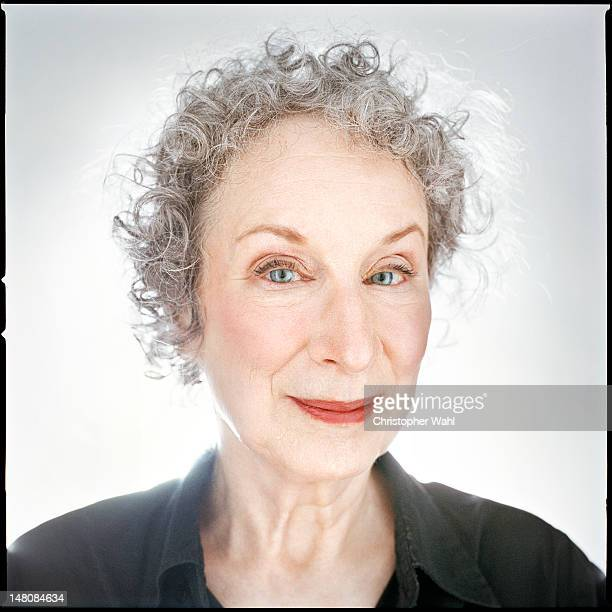 Author Margaret Atwood is photographed for Vanity Fair Magazine on October 1 2006 in Toronto Ontario