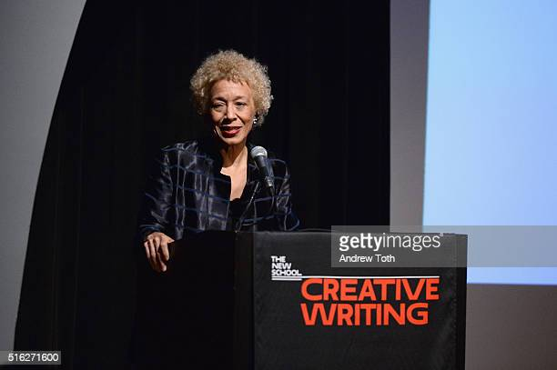 Author Margo Jefferson attends the 2016 National Book Critics Circle Awards at The New School on March 17 2016 in New York City