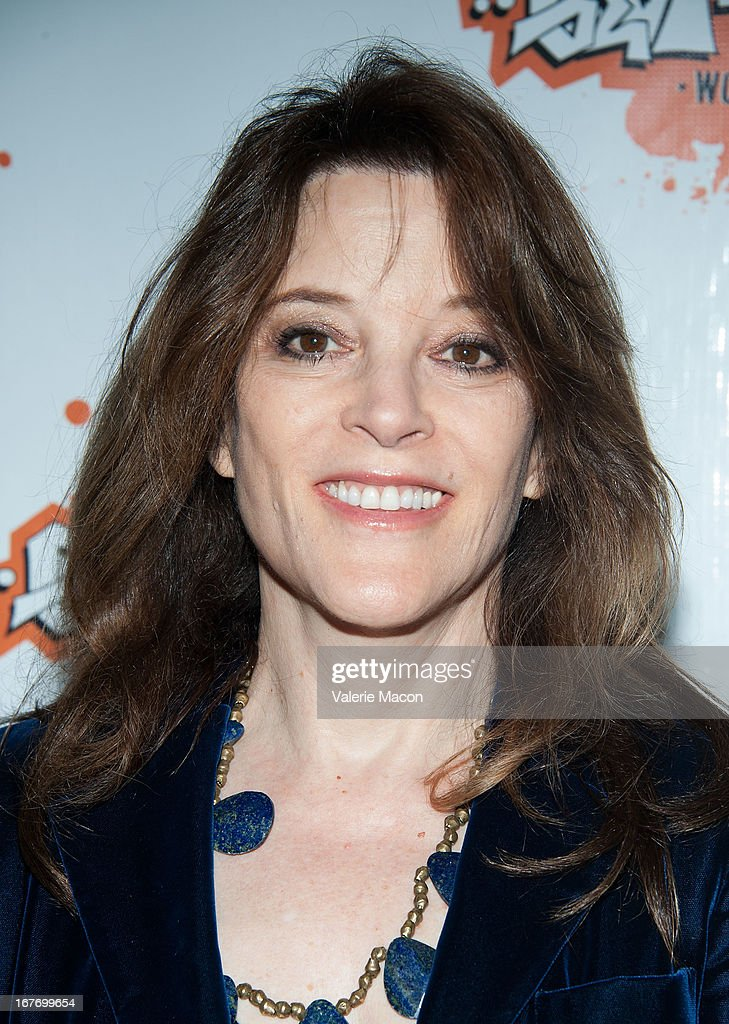 Author Marianne Williamson attends Get Lit Presents The 2nd Annual Classic Slam at Orpheum Theatre on April 27, 2013 in Los Angeles, California.