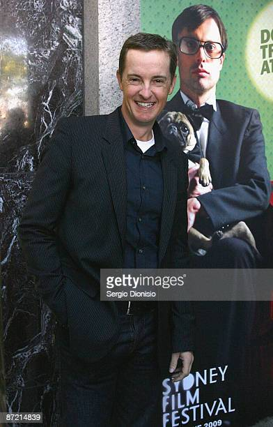 Author Matthew Riley attends the official launch for the Sydney Film Festival at the Dendy Opera Quays on May 14 2009 in Sydney Australia