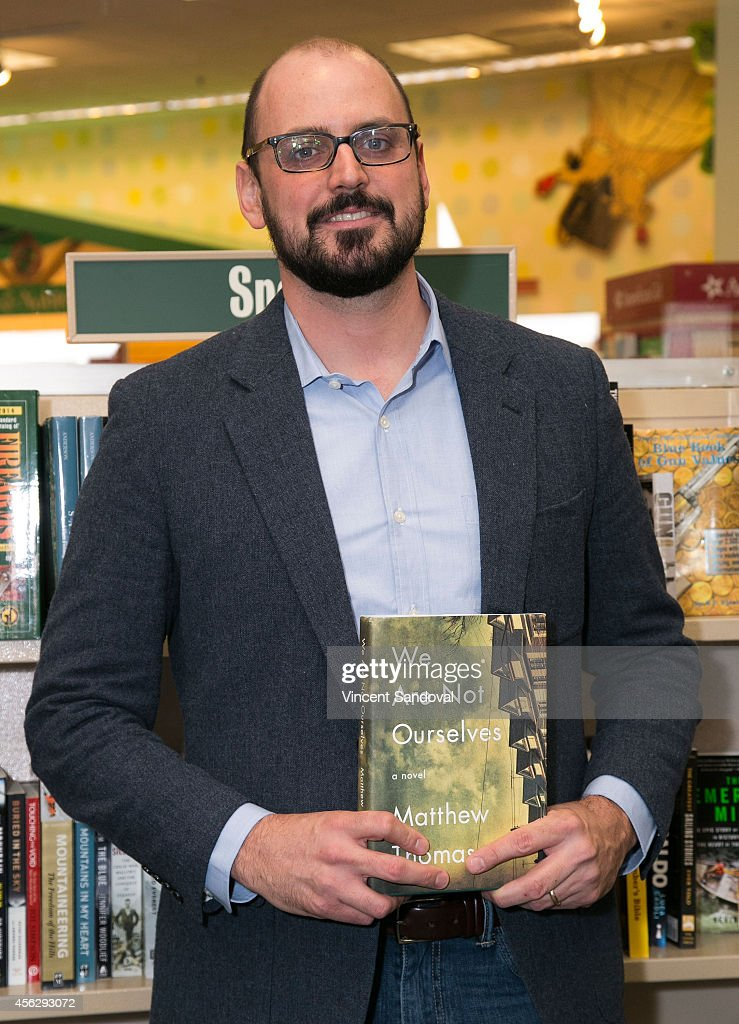 Author Matthew Thomas attends the Matthew Thomas and Misha Collins book signing for 'We Are Not Ourselves' at Barnes & Noble bookstore at The Grove on September 28, 2014 in Los Angeles, California.