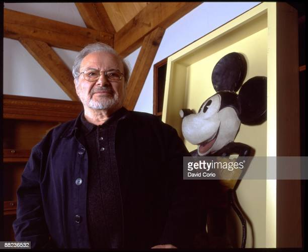 Author Maurice Sendak poses for a portrait at his home on September 7 2003 in Connecticut