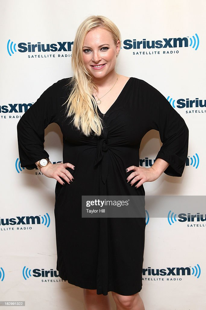 Author <a gi-track='captionPersonalityLinkClicked' href=/galleries/search?phrase=Meghan+McCain&family=editorial&specificpeople=1045063 ng-click='$event.stopPropagation()'>Meghan McCain</a> visits the SiriusXM Studios on October 3, 2013 in New York City.