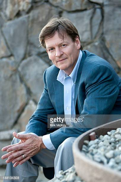 Author Michael Lewis is photographed for the Los Angeles Times on October 10 2011 in Los Angeles California PUBLISHED IMAGE CREDIT MUST BE Kirk...