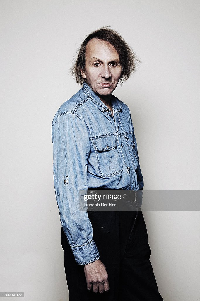 Author <a gi-track='captionPersonalityLinkClicked' href=/galleries/search?phrase=Michel+Houellebecq&family=editorial&specificpeople=2164957 ng-click='$event.stopPropagation()'>Michel Houellebecq</a> is photographed for Self Assignment during Berlin Film Festival on February 8, 2014 in Berlin, Germany.