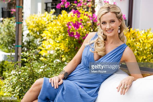 Author model showgirl and television personality Holly Madison is photographed for Us Weekly on May 20 2016 in Los Angeles California