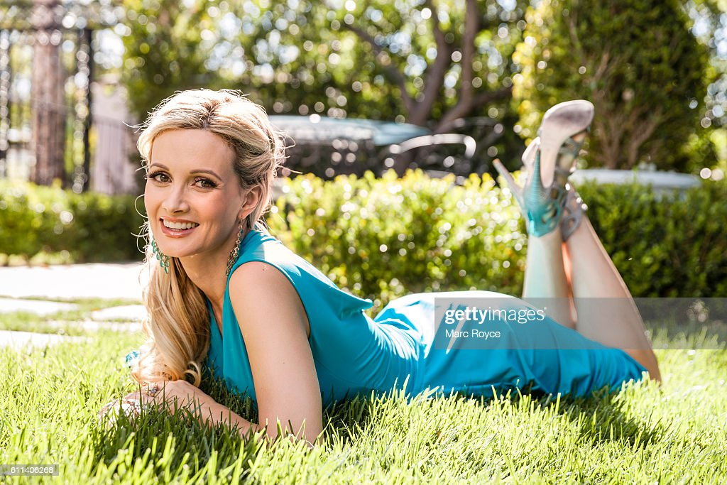 Author, model, showgirl, and television personality Holly Madison is photographed for Us Weekly on May 20, 2016 in Los Angeles, California.