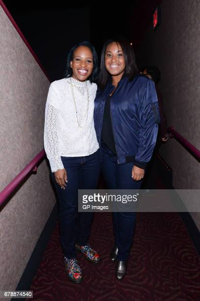 Author Nicola Yoon and Director Stella Meghie attend the Toronto fan screening of 'Everything Everything' at Cineplex Cinemas YongeDundas and VIP on...