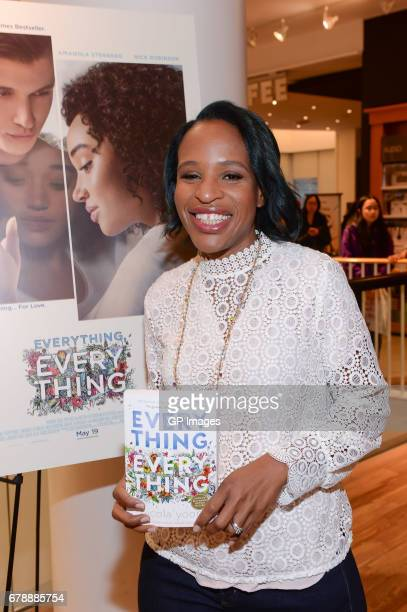 Author Nicola Yoon attends the 'Everything Everything' book signing at Indigo Eaton Centre on May 4 2017 in Toronto Canada