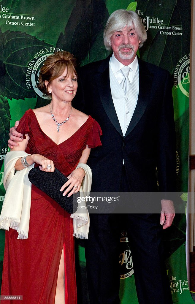 Author Nora Roberts (L) and her husband Bruce Wilder attend the 2009 Mint Jubilee Derby Eve Gala at the Galt House Hotel & Suites on May 1, 2009 in Louisville, Kentucky.