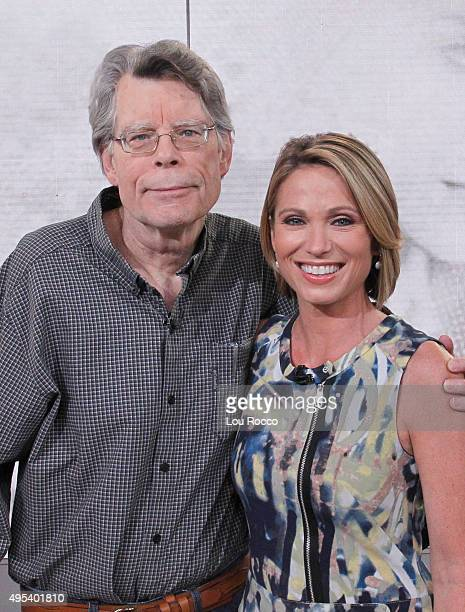 AMERICA Author of contemporary horror Stephen King is a guest on GOOD MORNING AMERICA 11/2/15 airing on the ABC Television Network