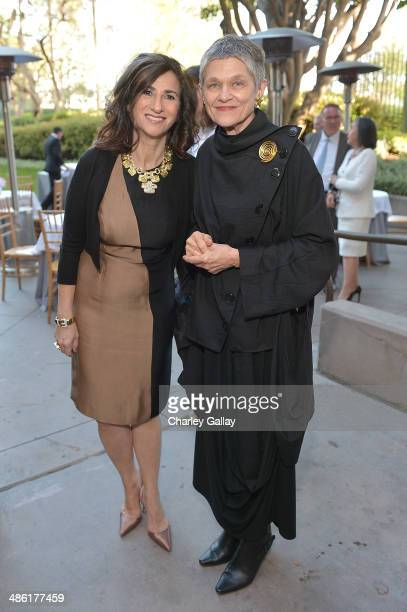 Author of 'David Webb The Quintessential American Jeweler' Ruth Peltason and Curator LACMA's Costume and Textiles Kaye Spilker attend David Webb And...