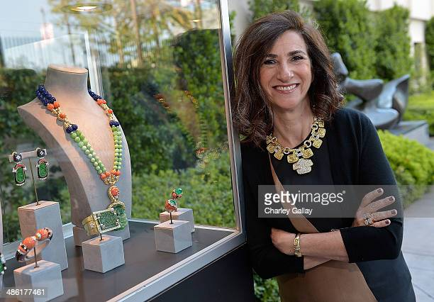 Author of 'David Webb The Quintessential American Jeweler' Ruth Peltason attends David Webb And Fashion At LACMA on April 22 2014 in Los Angeles...