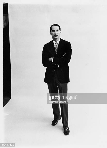 Author of novels and awardwinning collection of short stories Philip Roth