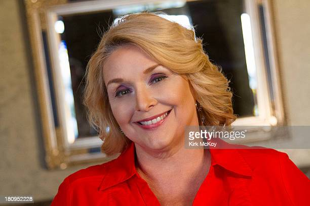 Author of 'The Girl A Life in the Shadow of Roman Polanki' Samantha Geimer is photographed for Los Angeles Times on September 6 2013 in Henderson...