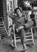 Author of To Kill a Mockingbird Harper Lee while visting her home town