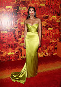 Author Padma Lakshmi attends HBO's official 2015 Emmy After Party at The Plaza at the Pacific Design Center on September 20 2015 in Los Angeles...