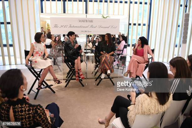 Author Pamela Golbin Special Correspondent to Vanity Fair Amy Fine Collins Fashion director of Saks Fifth Avenue Roopal Patel and CEO Creative...