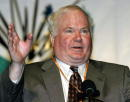 Author Pat Conroy known best for his book 'Prince of Tides' discusses his upcoming book at a breakfast held at the BookExpo May 5 2002 at the Jacob...