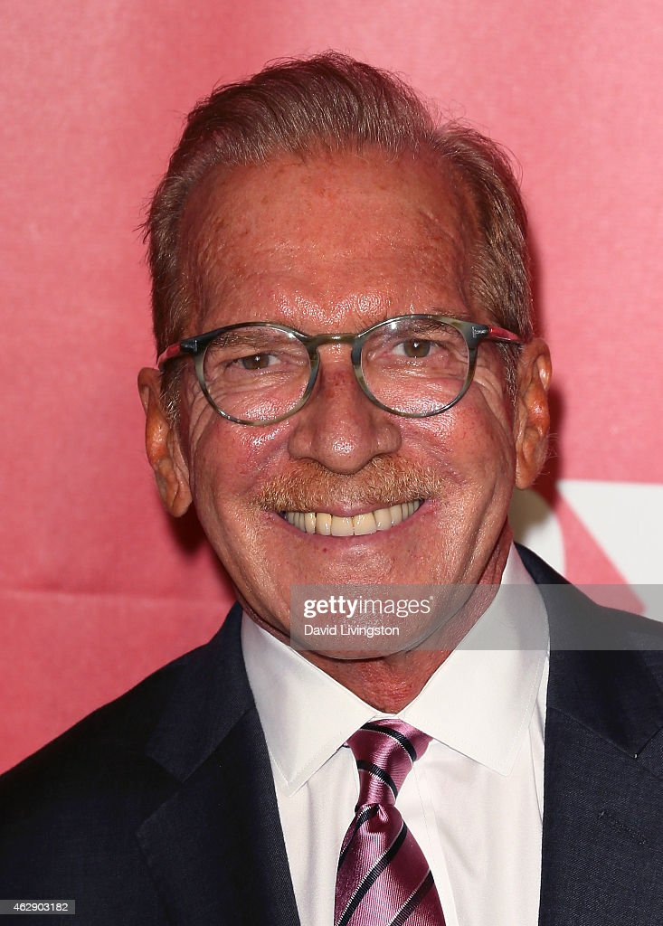 Author Pat O'Brien attends the 2015 MusiCares Person of the Year Gala honoring Bob Dylan at the Los Angeles Convention Center on February 6 2015 in...