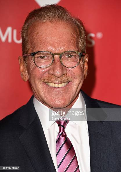 Author Pat O'Brien attends the 25th anniversary MusiCares 2015 Person Of The Year Gala honoring Bob Dylan at the Los Angeles Convention Center on...