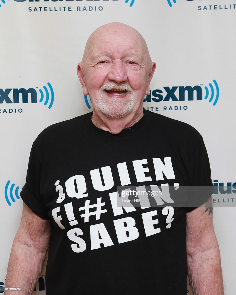 Author Patrick Carlin promotes his book '?Quien F!#kin' Sabe?' at the SiriusXM Studios on December 5, 2012 in New York City.