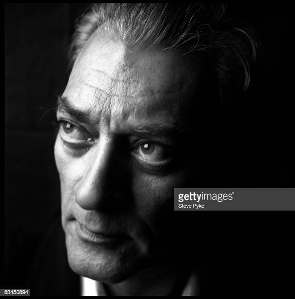 Author Paul Auster poses at a portrait session in New York City