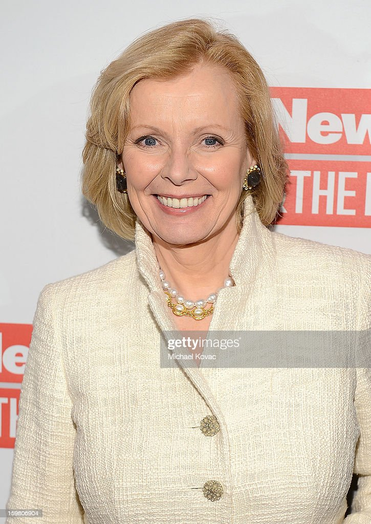 Author Peggy Noonan attends The Daily Beast Bi-Partisan Inauguration Brunch at Cafe Milano on January 20, 2013 in Washington, DC.
