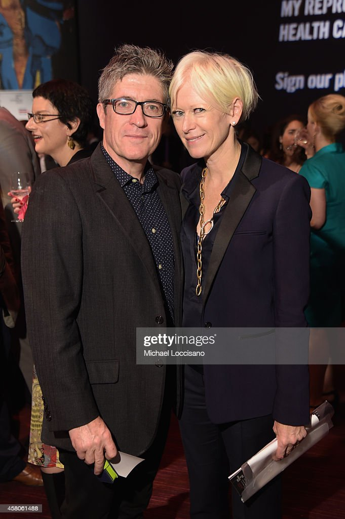 Author Peter Godwin and EditorinChief of Cosmopolitan Joanna Coles attend the Center for Reproductive Rights 2014 Gala at Jazz at Lincoln Center on...