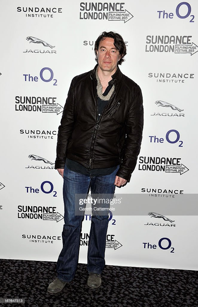 Author Peter Straughan attends the Screenwriting Flash Lab during the Sundance London Film And Music Festival 2013 at Sky Superscreen O2 on April 27, 2013 in London, England.