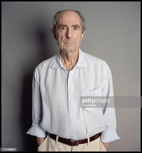 Author Philip Roth is photographed for Esquire Magazine on August 1 2010 in New York City