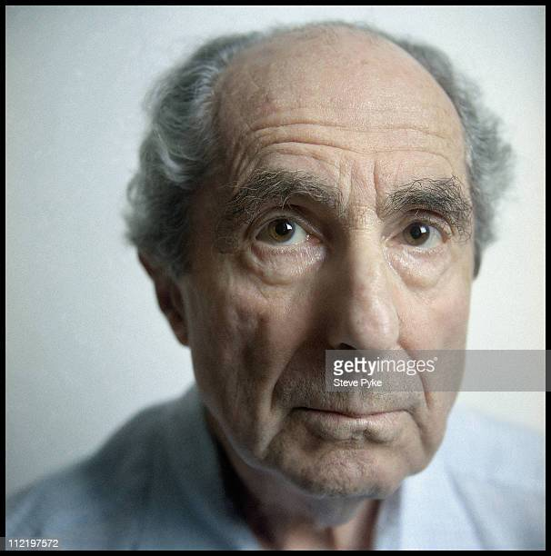 Author Philip Roth is photographed for Esquire Magazine on August 1 2010 in New York City Published image