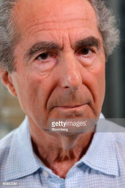 Author Philip Roth poses for a portrait in New York US on Wednesday Sept 3 2008 You can't win a Nobel Prize in literature because of your nationality...